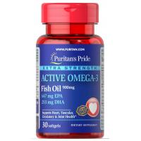 Active Omega-3 Extra Strength 900mg - 30 softgels