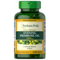 Evening Primrose Oil 1000 mg with GLA - 120 Softgels