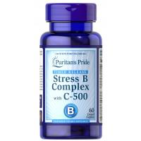 Stress Vitamin B-Complex with Vitamin C-500 Timed Release - 60 Caplets