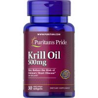 Red Krill Oil 500 mg (86 mg Active Omega-3) - 30 softgels